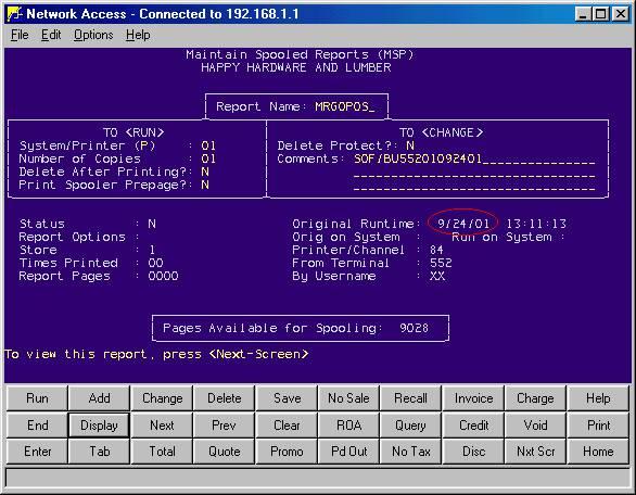Verifying the Upload of Offline Transactions